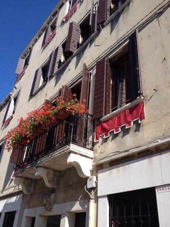 Suite in Venice Ai Carmini: our apartment window