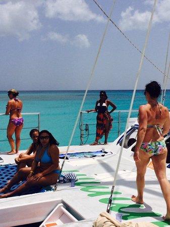 Jammin Catamaran Cruises: The boat