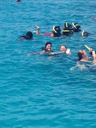 Jammin Catamaran Cruises: swimming : )