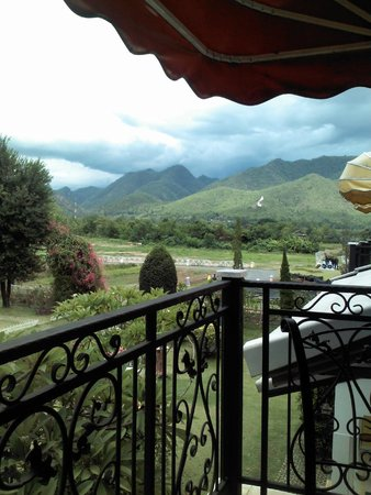 Baan Kung Kang De Pai: View from Balcony of Cuite Room