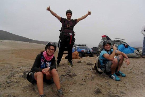 Aeroxtreme Paragliding School: antes de