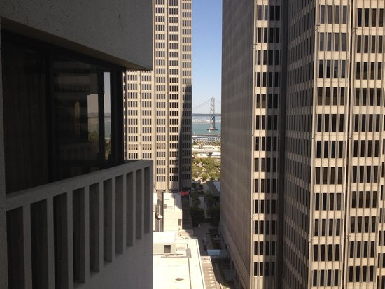 Le Meridien San Francisco: The view from our room