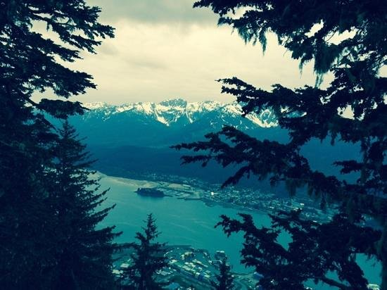 Mount Roberts Trail : View from Mt Roberts trail