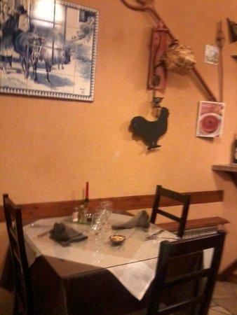 Restaurant Lusitania: la salle