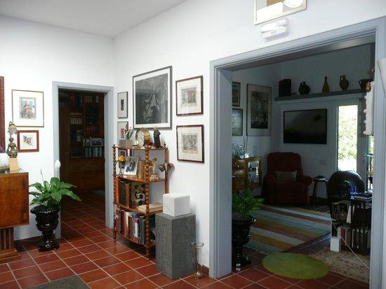 Casa Jose Saramago: entrada al salón