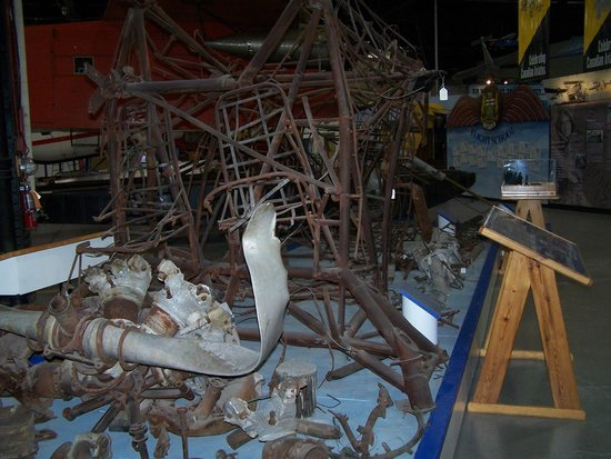 Canadian Bushplane Heritage Centre: A recovered wreck