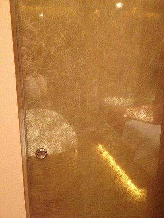 Le Meridien Singapore, Sentosa : bathroom door