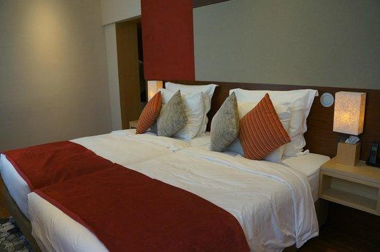 Le Meridien Singapore, Sentosa : Twin room
