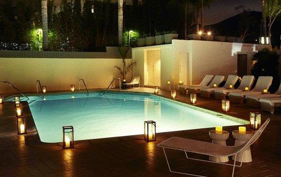 Hotel La Jolla, Curio Collection by Hilton : Pool at Night