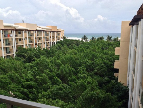 Now Jade Riviera Cancun: Ocean view from building 3 - June 2014