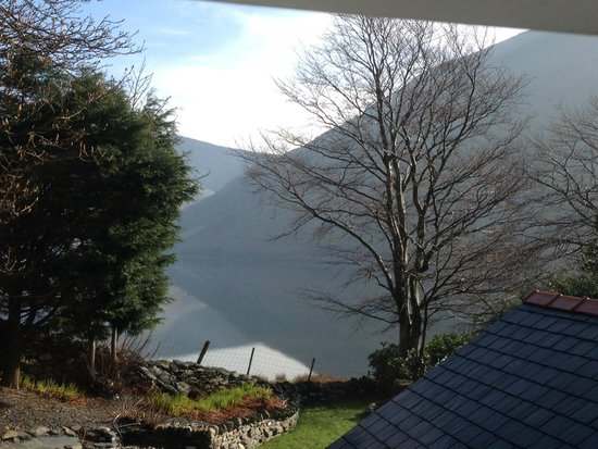The Old Rectory on the Lake: View from the bath!