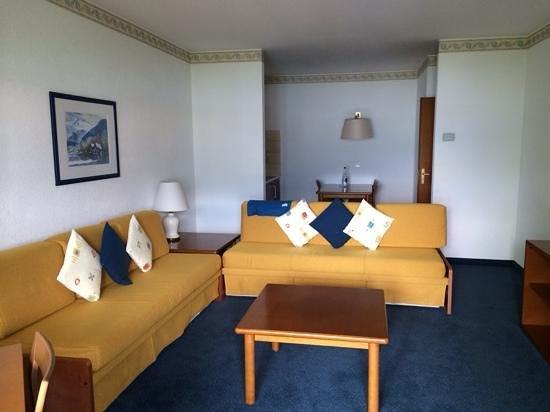 H4 Hotel Arcadia Locarno: living room area
