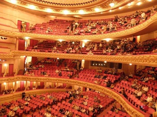 Theatro Municipal do Rio de Janeiro : View showing Theater inside