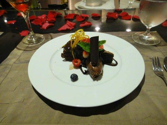 Carte Blanche Restaurant : Dessert!