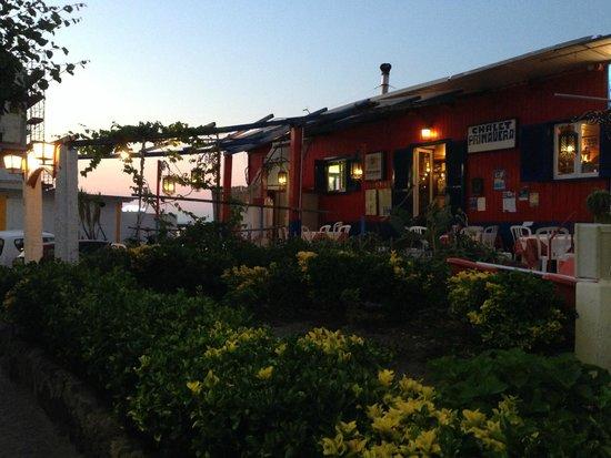 Chalet Primavera: Locale particolare sul mare
