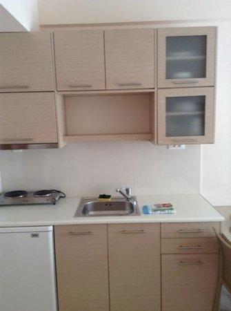 Hotel Kedrissos: kitchen