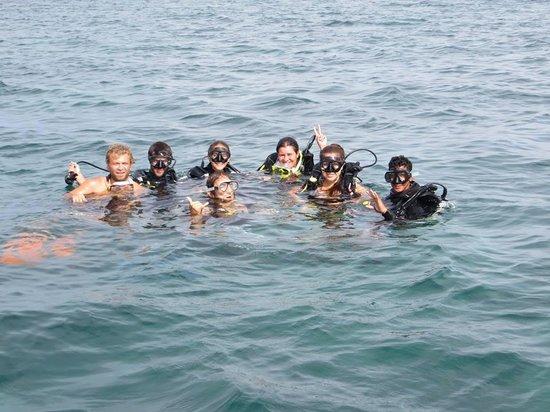 Bocas Dive Center: primer buceo!!!