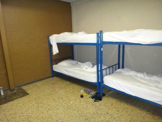 Hostel Pangea: Habitación compartida de 8
