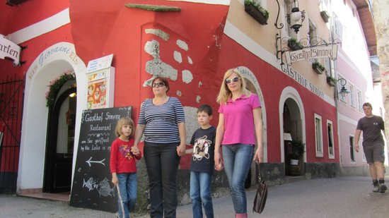 Gasthof Simony Restaurant am See: Вход в ресторан