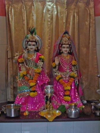 Radhakrishna Temple at Jogalekar Cottage