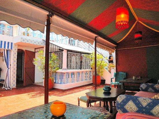 Maison d' Hotes de la Cite Portugaise d'El Jadida : Sous la tente