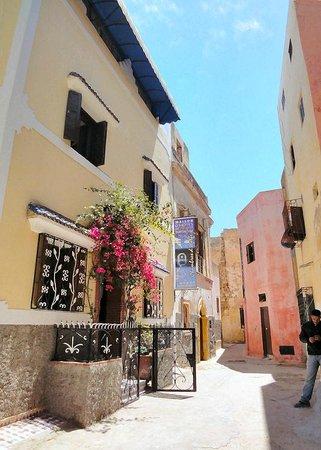 Maison d' Hotes de la Cite Portugaise d'El Jadida : La rue