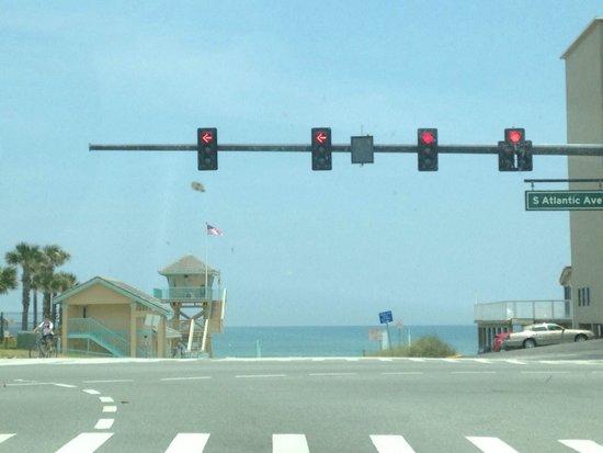 Beach at Daytona Beach: Daytona from a1a