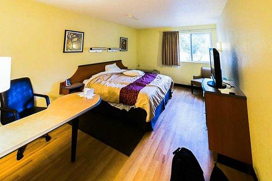 Red Roof PLUS+ South Deerfield : Bedroom
