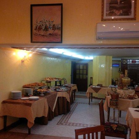 Hotel Bouregreg : Breakfast room