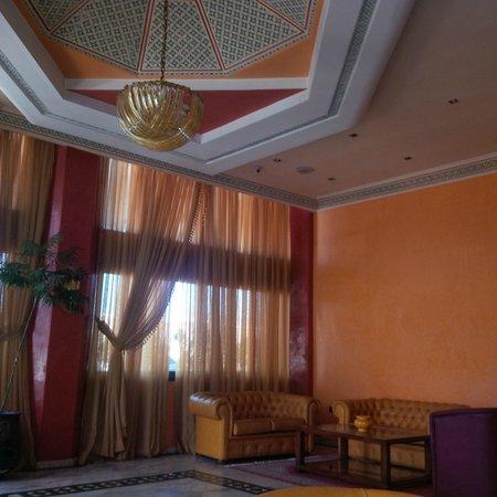 Hotel Bouregreg : Lobby