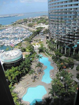 Marriott Marquis San Diego Marina: Hotel Pools and Marina