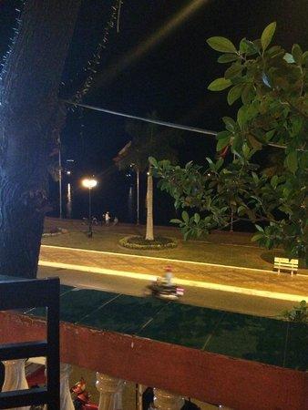 Khmer Saravan: view from the balcony