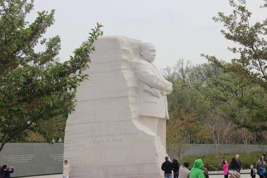 Martin Luther King, Jr. Memorial, April 2014