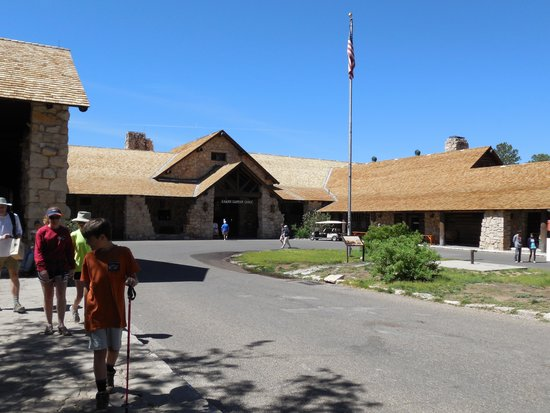Grand Canyon Lodge - North Rim: The main lodge