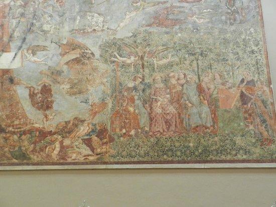 """Le Camposanto (cimetière) : Il """"Trionfo della morte"""" particolare"""