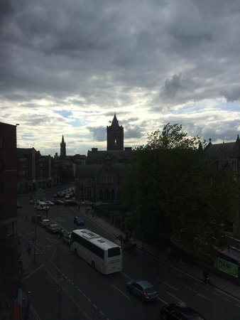 Jurys Inn Dublin Christchurch: View from room