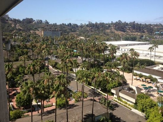 Town and Country San Diego: Day view of the city in the Towers room 1030