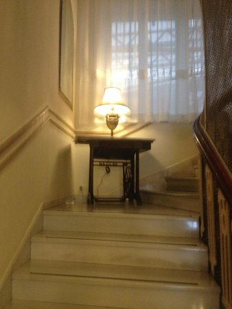 Tourist Hotel: staircase
