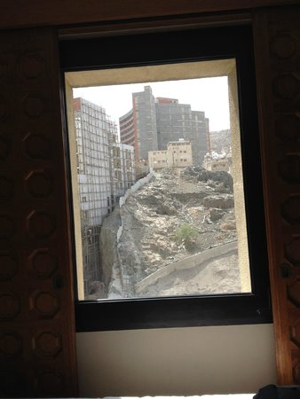 Makarem Ajyad Makkah Hotel : View from the boy's room