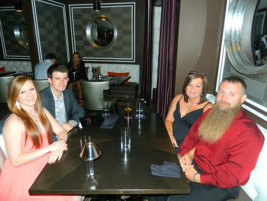 Oliver's Prime Steakhouse: Eating with our son and future daughter in law