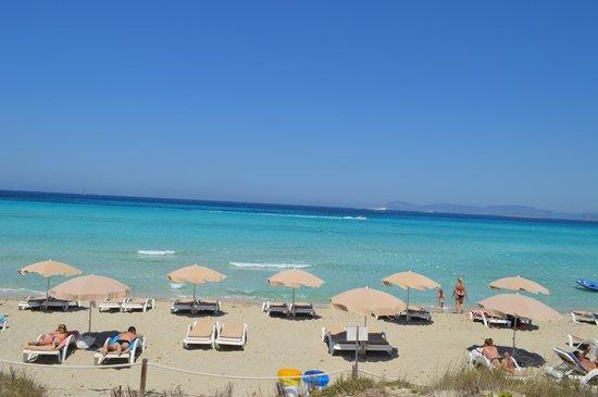 Playa de Ses Illetes: formentera