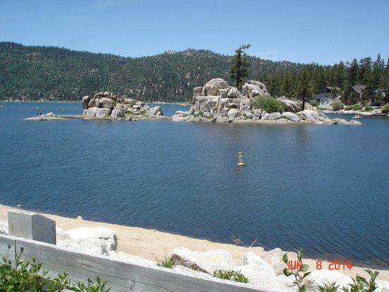 The Boulder Bay arm of Big Bear Lake