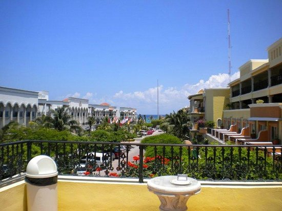 Gran Porto Resort: from roof top pool