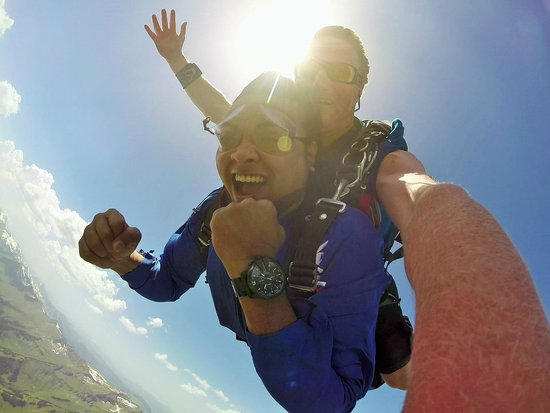 Skydive Switzerland - Scenic Air AG : with Tim~