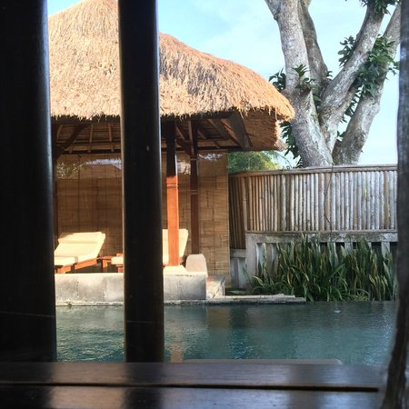 Villa Nirvana Bali : pool view from room