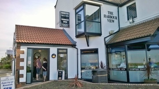 Whitley Bay, UK: THE HARBOUR VIEW SEATON SLUICE.THE BEST FISH AND CHIPS.