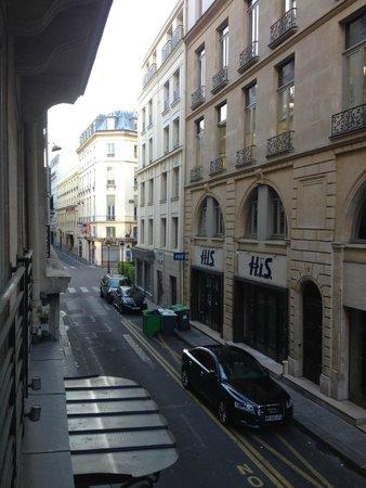Best Western Hotel Gaillon Opera: Rue Gaillon