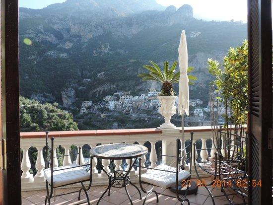 Villa Palumbo B&B : vista increible desde nuestra terraza