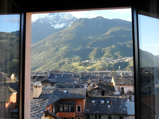 HB Aosta Hotel: Lovely views from our room