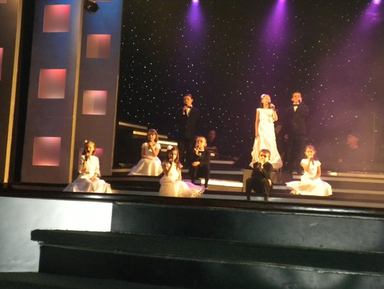 Hughes Brothers Theatre : A group of the children singing a gospel song